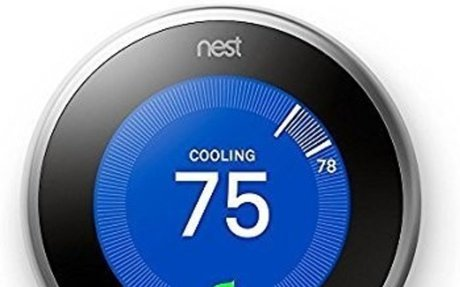 Nest Learning Thermostat, Easy Temperature Control for Every Room in Your House, Stainless