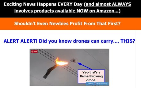Make Money With Amazon and News Trends: Newbie Profits