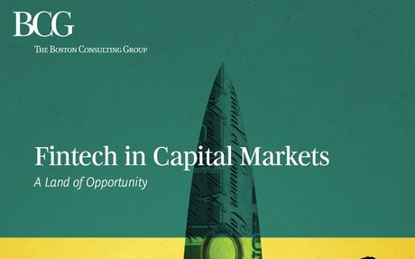 2016-11 BCG: FinTech in Capital Markets