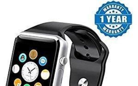Drumstone Silver A1 Bluetooth Smart Watch Sport SIM: Amazon.in: Electronics