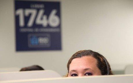 Um a cada três pedidos ao serviço 1746 não tem solução