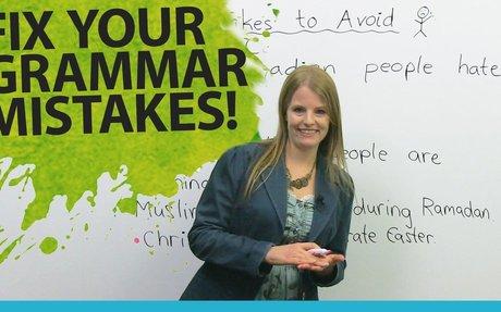 Improving Grammar