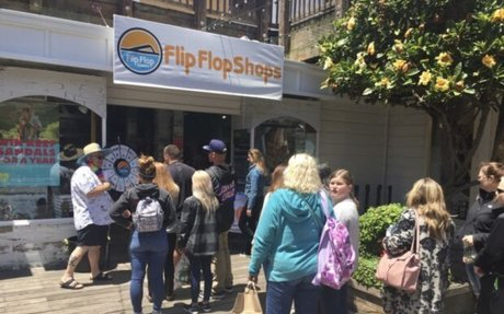 Flip Flop Shops Celebrates National Flip Flop Day, Gives Away 1,000 Pairs at New Store ...