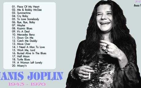 Best Songs Of Janis Joplin || Janis Joplin Collection