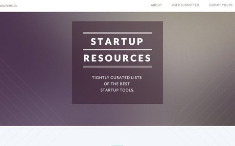 StartupResources.io - the best tools for Startups to use