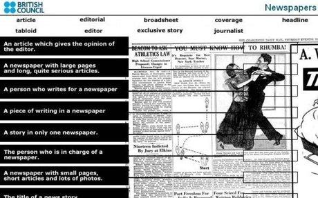 The media : NEWS - ESL Resources