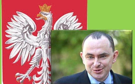 Adam Kwiatkowski, Segretario di Stato polacco, in visita alla Anders