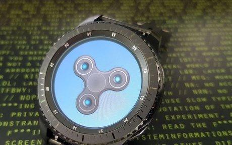 DDDWNB: Fidget Spinner auf der Smartwatch