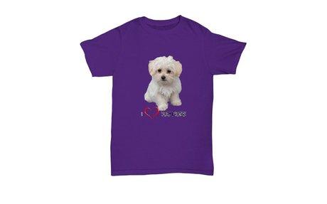Maltese Dogs Love Shirts
