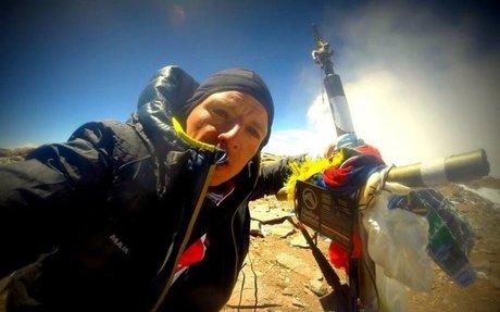 Karl Egloff consigue el récord del Huascarán tras 11 horas