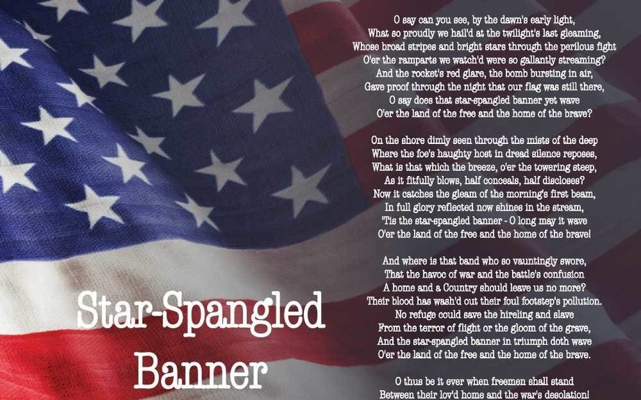 star spangled banner adopted as our national anthem