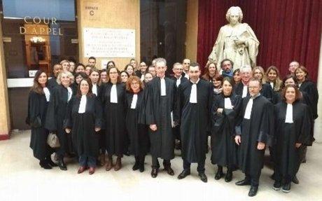 """Grève au palais de justice - Les avocats remontés contre """"les mensonges et le mépris de la"""