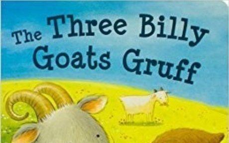 The Three Billy Goats Gruff (Fairytale Boards): Parragon Books: 0824921051282: Amazon.com: