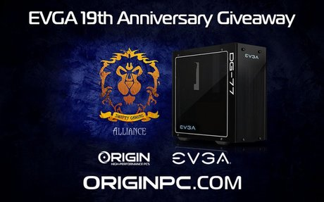 Special EVGA Edition ORIGIN PC Giveaway!