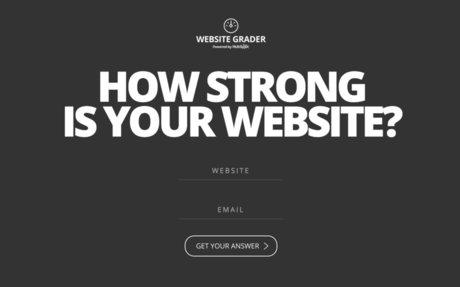 Website Grader | Grade Your Site