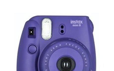 Amazon.com : Fujifilm Instax Mini 8 Instant Film Camera (Grape) : Camera & Photo