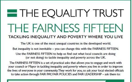 The Quality Trust Fairness Fifteen (Local Manifesto)