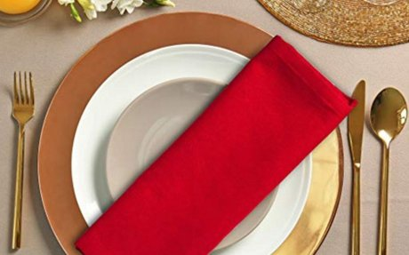 Amazon.com: Utopia Bedding Cotton Dinner Napkins - Red - 12 Pack (18 inches x 18 inches) -