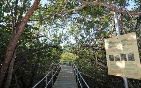 A tourist fell through a rotting boardwalk. Now he wants $98,000