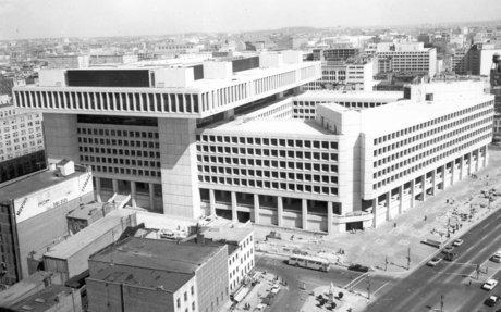 FBI Headquarters in 1975