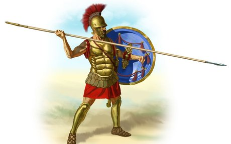 Spartans Wore Armor