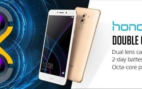Honor 6X Unlocked Smartphone, Dual Lens Camera and Dual SIM Standby, 3GB RAM,