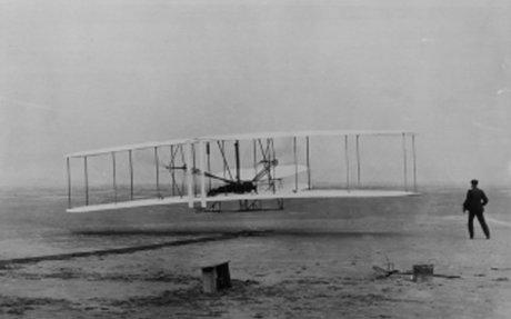 5.) First Airplane Flies