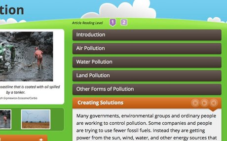Creating Solutions for Pollution