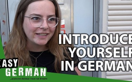 Introduce yourself in German (for absolute beginners) | Super Easy German (76)