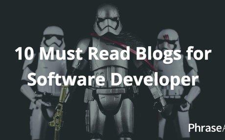 10 Must Read Blogs for Software Developer - PhraseApp Blog