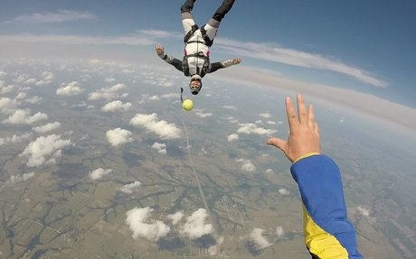 12 Stages of Skydiving