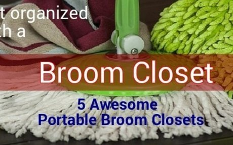 Popular Free Standing Broom Closets for Home 2017