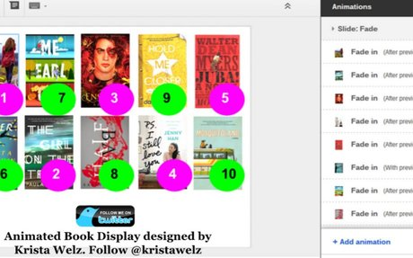Google-Animated Book Display for Your Library - TechNotes Blog - TCEA
