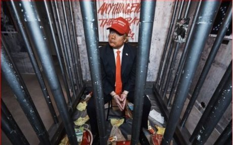 An Anarchist Art Collective Transformed a Trump Tower Hotel Suite Into a Prison Cell