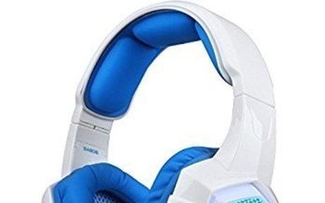 Amazon.com: Sades SA-806 USB 3.5mm Professional Stereo Gaming Headphone Blue Led Lighting