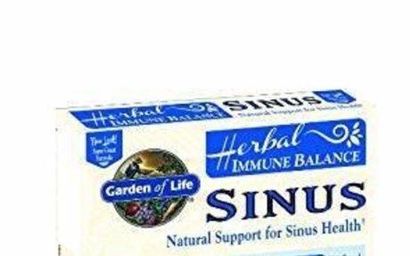 Amazon.com: Garden of Life Herbal Immune Balance Sinus 60 Capsules: Health & Personal Care