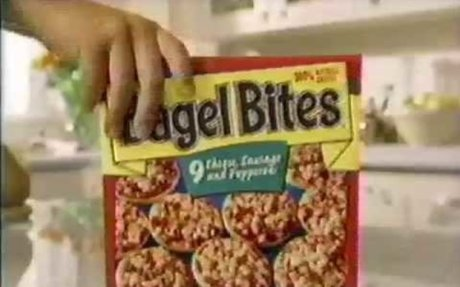 Bagel Bites Commercial