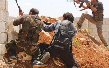 """النظام يقترب من حصار """"دير العصافير"""".. واستمرار الاشتباكات بين الفصائل"""