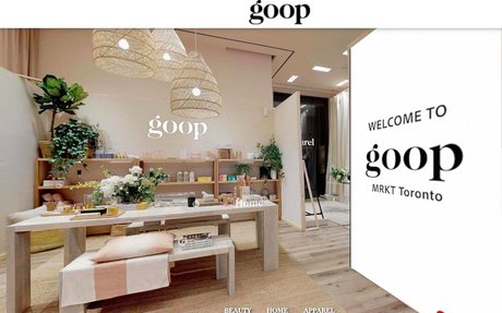 'goop' Launches Interactive 3D Ecommerce Store for Canada