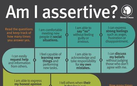 Am I assertive?