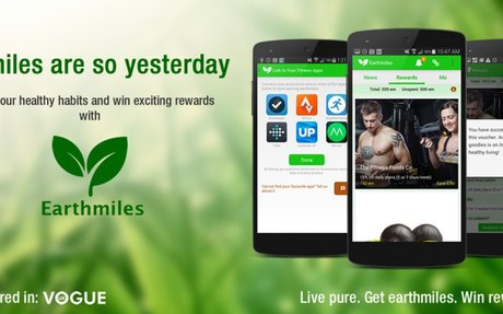 Earthmiles - Earn rewards for fitness