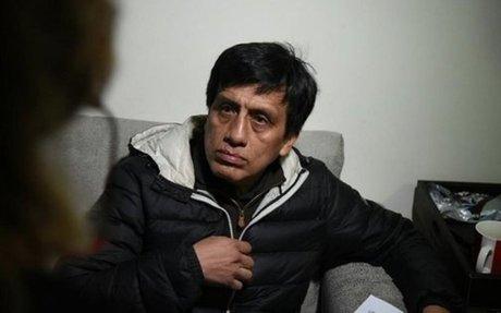 Polémico empresario Antonio Camayo fue liberado de prisión esta tarde