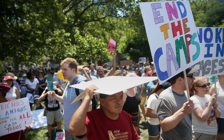 Thousands in Philadelphia protest ICE and Trump