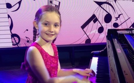 10-year-old music prodigy becomes youngest signed to agent