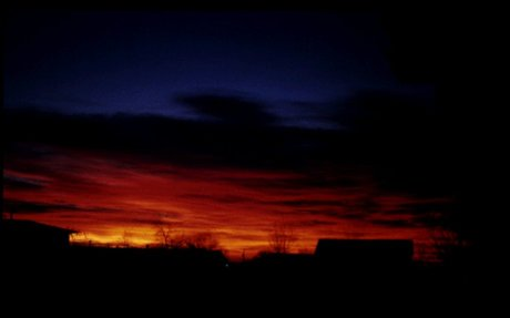 Sunsets:  appear in a variety of colors