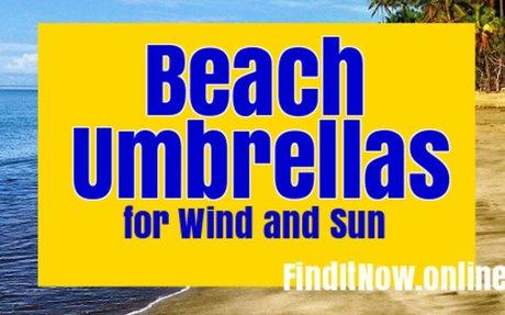 Top Rated Heavy Duty Beach Umbrella