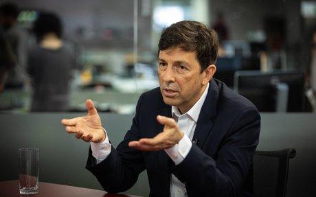 Pré-candidato pelo Novo,Amoêdo defende privatização total e prevê 10 ministérios