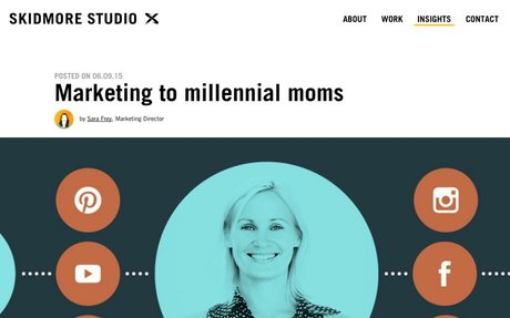 Marketing to Millennial Moms