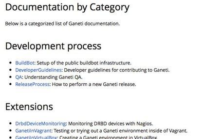 Ganeti Wiki