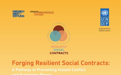 Forging Resilient Social Contracts: A Pathway to Preventing Violent Conflict and Sustainin